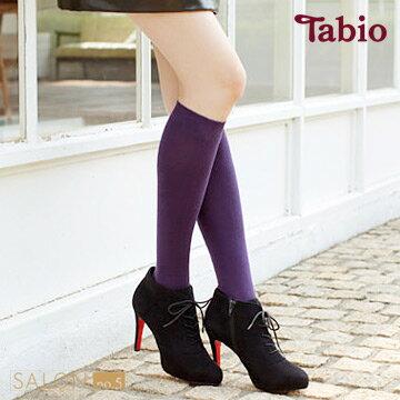 靴下屋Tabio 柔軟舒適棉質長筒襪 / 及膝襪