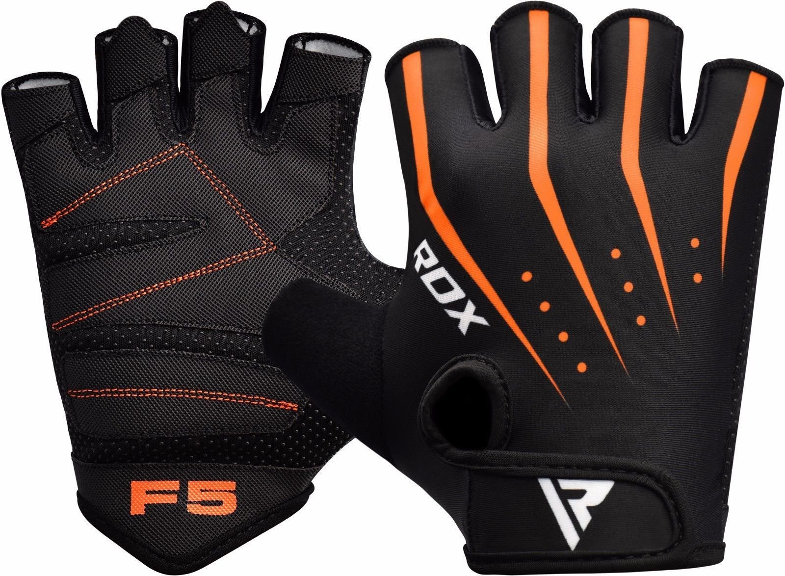 RDX WEIGHT LIFTING GYM GLOVES 0
