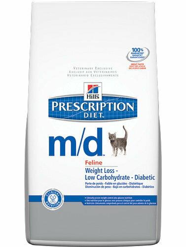 *Mi Gu*希爾斯Hill's《貓用m/d》4 lb處方食品