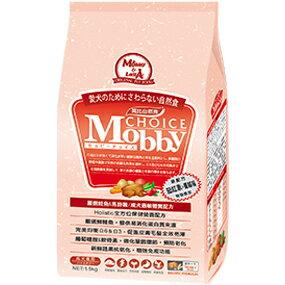 *Mi Gu*莫比Mobby《鮭魚+馬鈴薯》7.5kg無穀成犬專用配方 - 莫比寵物自然食