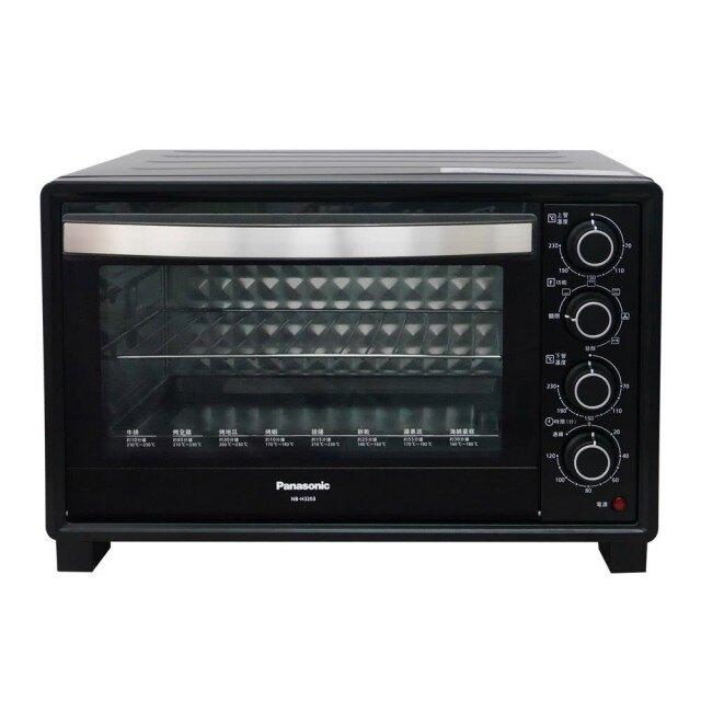 【PANASONIC 國際牌】32L雙溫控發酵電烤箱 (NB-H3203)|國際牌 Panasonic 烤箱