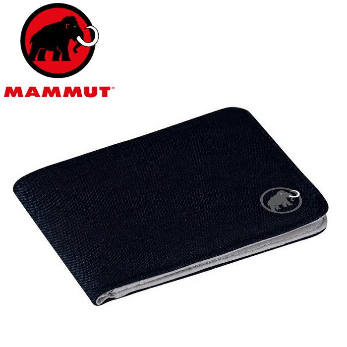 Mammut 長毛象 拉鍊錢包/皮夾/短夾/財布 Flap wallet melange 2520-00710 5118 海洋藍