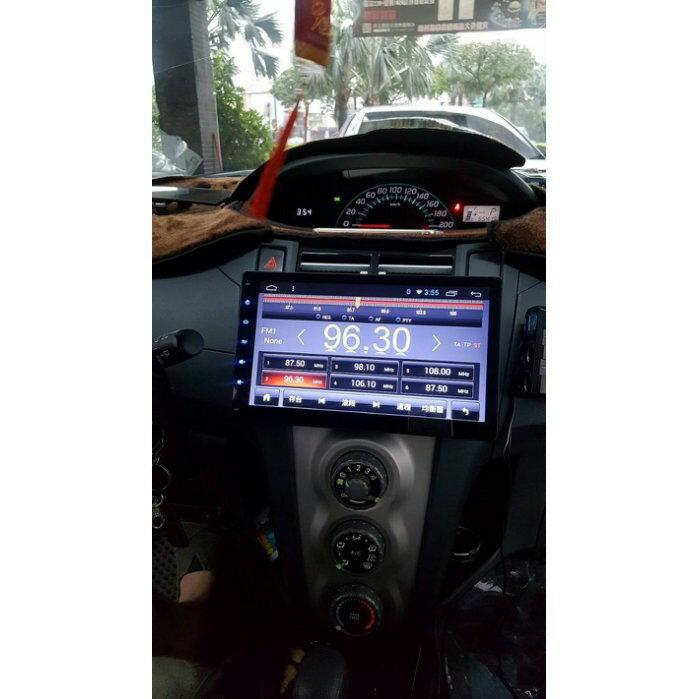 豐田TOYOTA 2006~2013 YARIS 10吋 平板 上網 安卓版螢幕主機