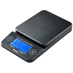 金時代書香咖啡 Tiamo KS-900專業計時電子秤 2kg 藍光 黑色 HK0513BK-1