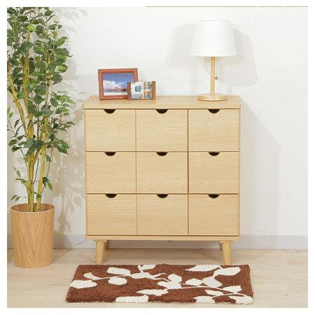 ◎(OUTLET)木質整理櫃 LUFFY2-80NA 福利品 NITORI宜得利家居 1