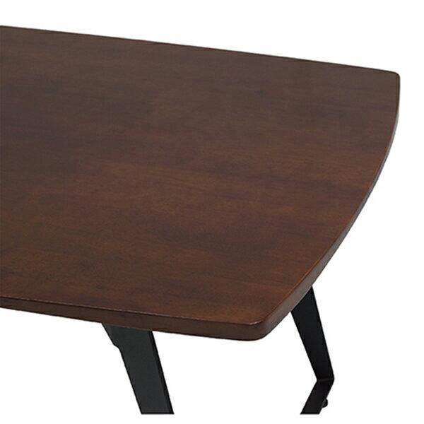 工業風實木餐桌 2