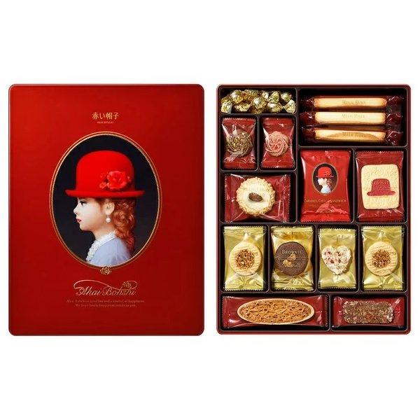【豆嫂】日本零食 紅帽子 紅色 赤帽子禮盒★超熱賣伴手禮推薦