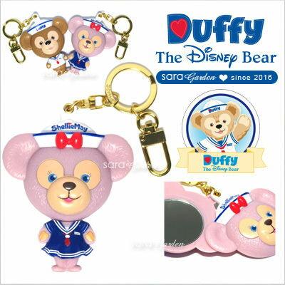 正版迪士尼 雪莉玫 雪莉梅 ShellieMay 隨身鏡 美容鏡 化妝鏡 吊飾 掛飾 鑰匙圈 Disney