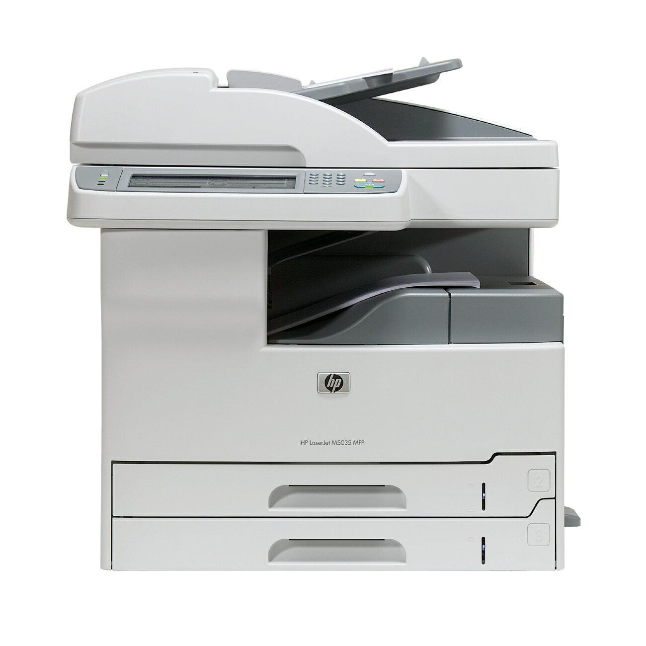 HP LaserJet M5035 Multifunction Printer - Monochrome - 35 ppm Mono - 1200 x 1200 dpi - Copier, Printer, Scanner 0