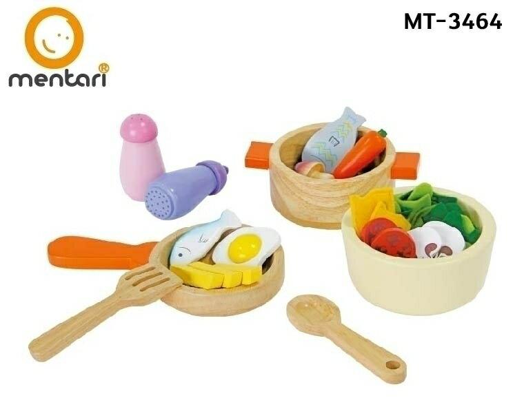 木製玩具 家家酒 / Mentari 天才小廚師鍋具組