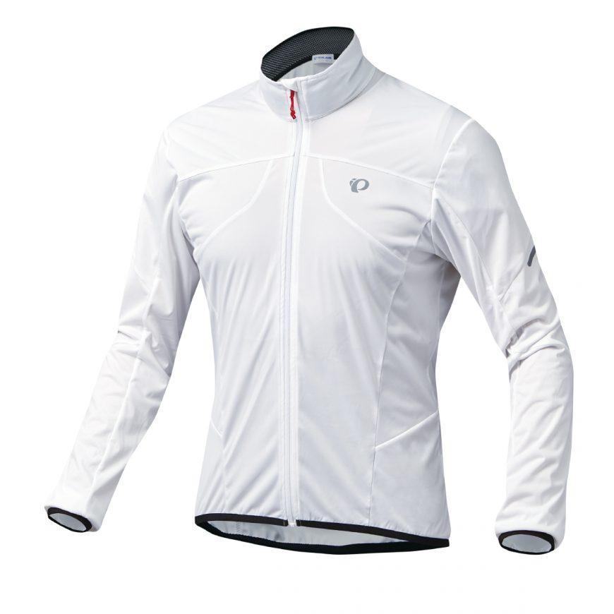 【7號公園自行車】PEARL IZUMI 2300-7 超輕量防潑水風衣(白)