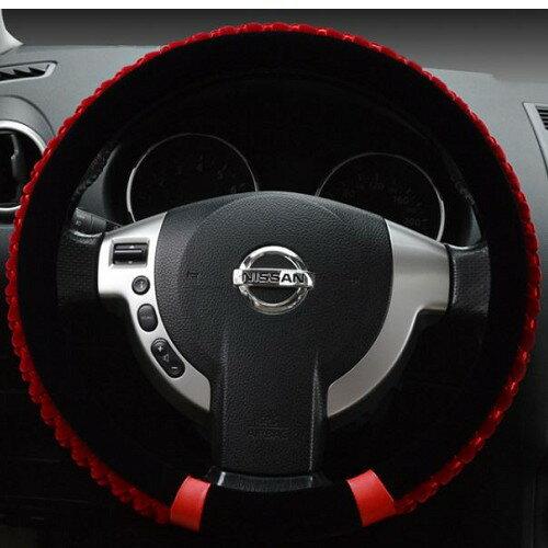 珊瑚絨 方向盤套 MINI BMW AUDI BENZ SUBARU SUZUKI VW 三菱 沂軒精品 A0294