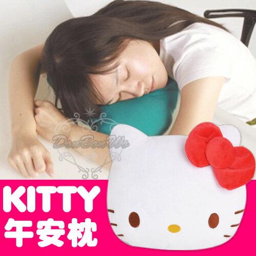 海渡-HELLO KITTY貓臉短絨毛午休午睡枕小抱枕958385