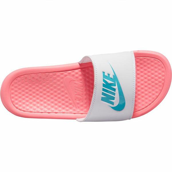 【領券最高折$250】【NIKE】WMNS BENASSI JDI 拖鞋 藍 粉 女鞋 -343881616