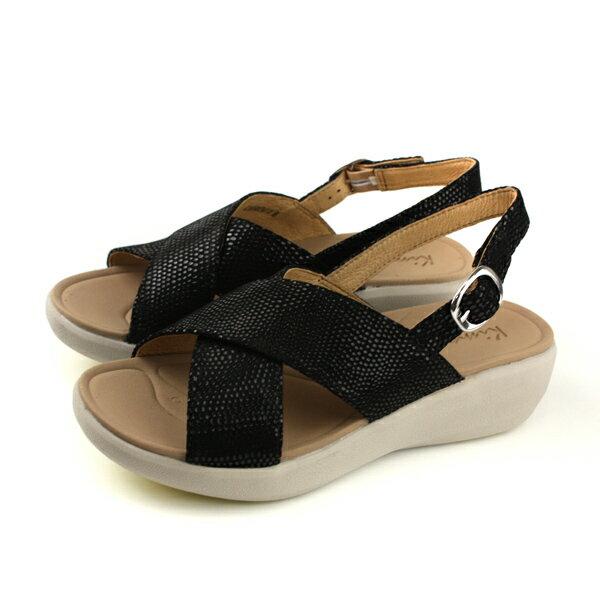 Kimo涼鞋厚底鞋女鞋黑色K18SF087143no754