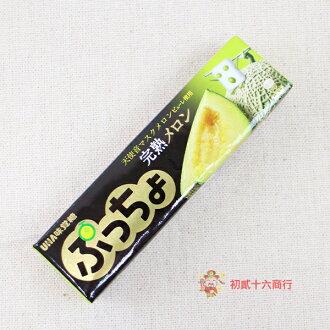 【0216零食會社】日本味覺糖-哈密瓜味條糖50g