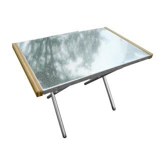 【Outdoorbase】小金剛不銹鋼折合桌 25513 桌邊桌 泡茶桌 露營桌 摺疊桌