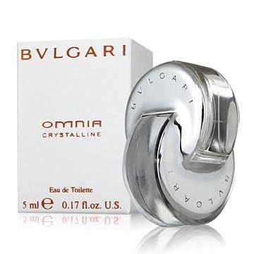 香水1986☆  BVLGARI Omnia Crystalline 寶格麗亞洲典藏版晶澈女性淡香水迷你 5ml