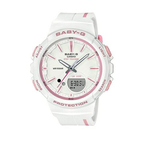 CASIOBABY-G運動熱潮流行腕錶計步功能BGS-100RT-7ADR