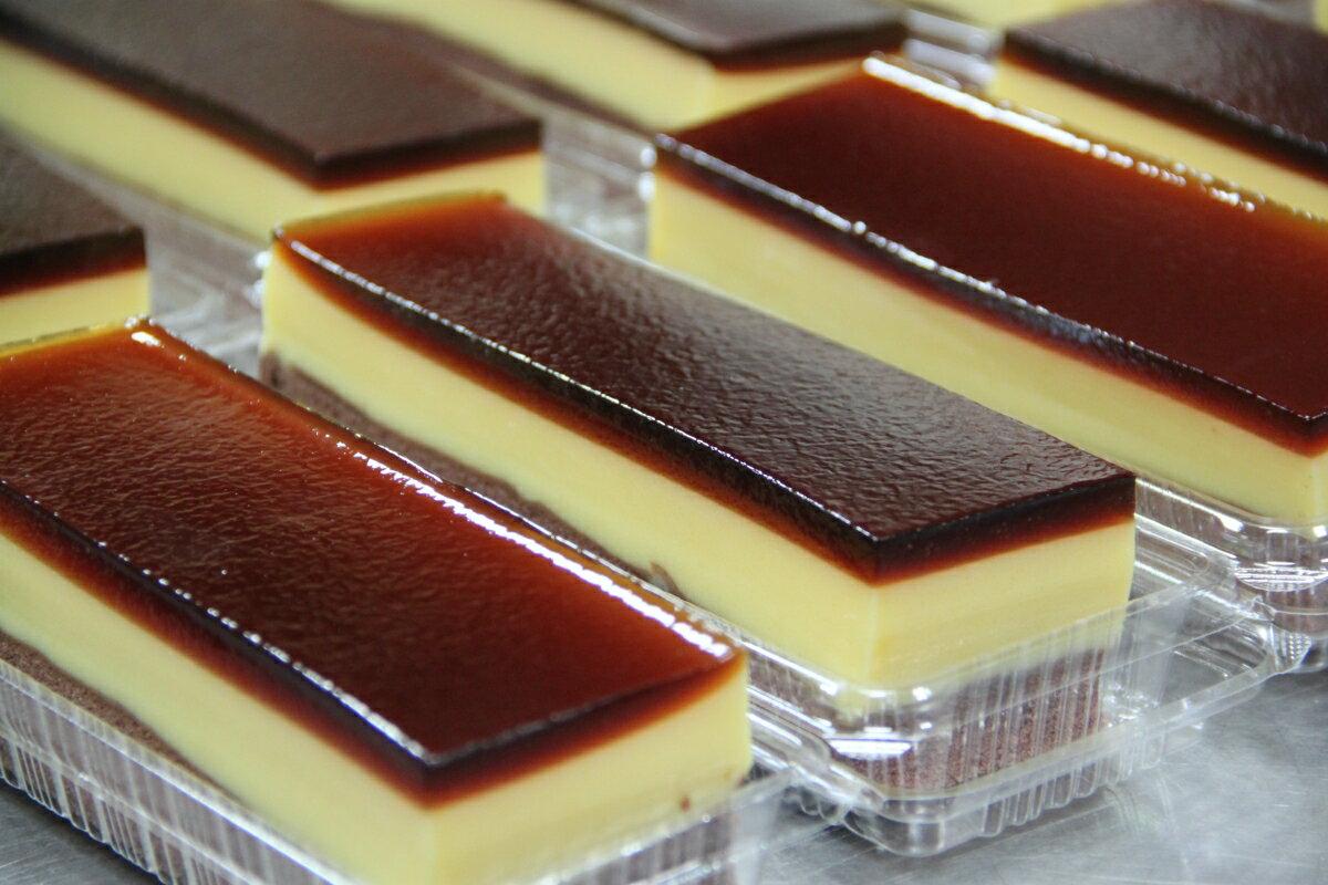 水晶蛋糕|水晶布丁蛋糕 - 咖啡凍、布丁、巧克力蛋糕三層最美味[滋養軒]