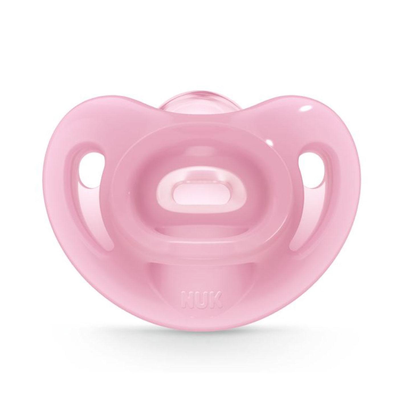 【淘氣寶寶】德國 (211)NUK SENSITIVE全矽膠安撫奶嘴