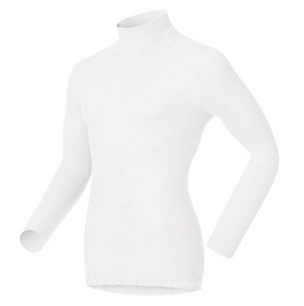 【【蘋果戶外】】odlo 152012 男高領 白『送耳罩』瑞士 機能保暖型排汗內衣 衛生衣 發熱衣 保暖衣 長袖