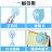 手持風扇 USB充電風扇【可折疊 當手機架】摺疊風扇 手機架 手機座 立扇桌扇 多功能 三段風力 迷你可拆卸 粉 / 藍 6