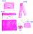 Mam Bab夢貝比 - 彩虹貝比嬰兒床 乳母嬰兒小床 + 蝴蝶6件式被組 8