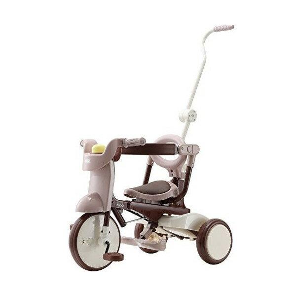 日本 iimo #02 兒童三輪車(折疊款-棕色)~總代理公司貨 升級款