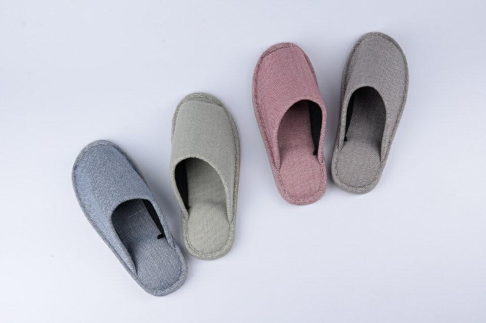 單色棉布 室內拖鞋