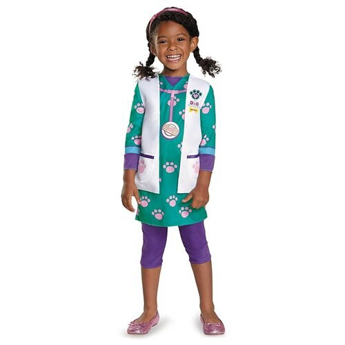 Disney Doc McStuffins Pet Vet Classic Costume Large (4-6x) 0