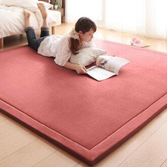 出口日本等級 日本原單 100*200CM 高級纖細珊瑚絨地毯/ 爬行墊/ 遊戲墊/ 榻榻米墊/ 運動墊/ 瑜珈墊/ 地墊 (客制訂做款)