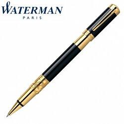 【華特曼 WATERMAN】名門系列 麗黑金夾 鋼珠筆 W0898650 /支