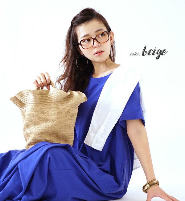日本e-zakka / 休閒褶邊設計手提包 / 21670-1801122 / 日本必買 代購 / 日本樂天直送(2500) 3