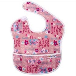 Baby City娃娃城 - 防水圍兜(6-24M) 粉色兔子 148元