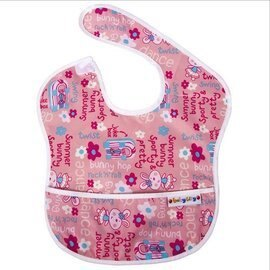 BabyCity娃娃城-防水圍兜(6-24M)粉色兔子148元