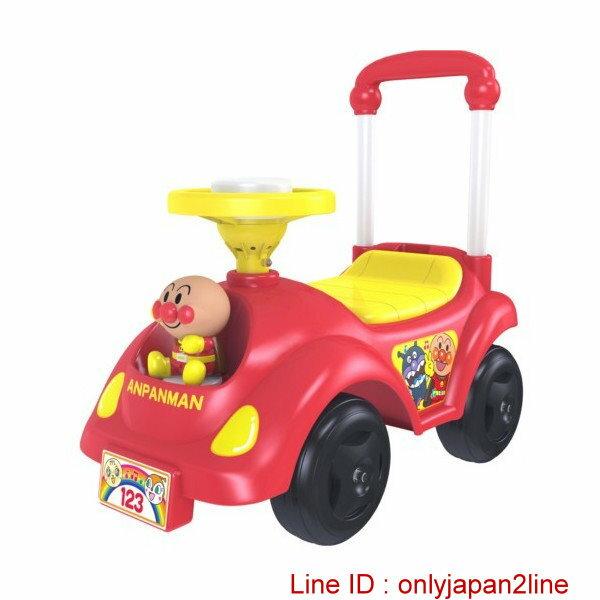 【真愛日本】16122000008學步車玩具車-AP紅  電視卡通 麵包超人 細菌人 兒童玩具 正品