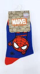 X射線【C128128】蜘蛛人Spider-Man 1/2童襪19~20cm,大人/小孩短襪/船型襪/sanrio卡通/襪子