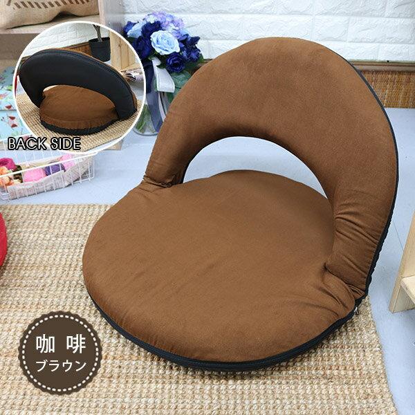 多用途和室椅 /  野餐椅 / 坐墊 《仿麂皮日式圓型和室椅》-台客嚴選 7