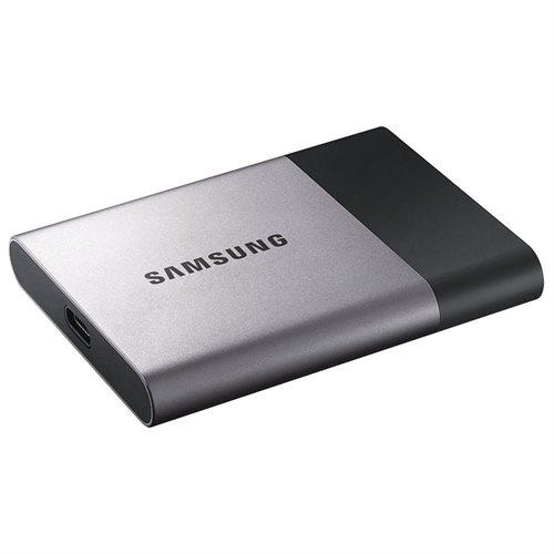 """Samsung T3 Portable 2TB SSD 2.0TB USB 3.1 External Solid State Drive MU-PT2T0B + 2.5"""" SSD case 3"""