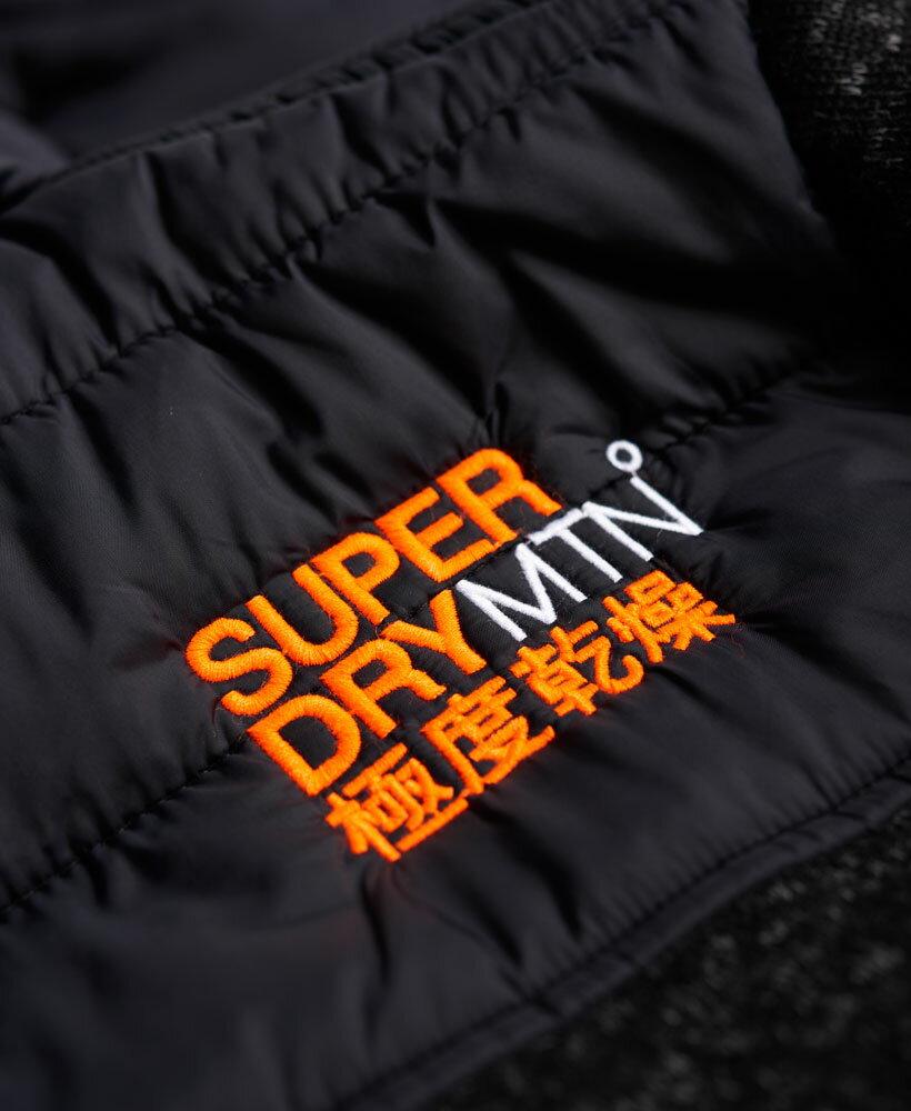 [男款]英國名品 正品代購 極度乾燥 Superdry STORM 連帽男士風衣戶外休閒外套帽T 砂礫黑 4