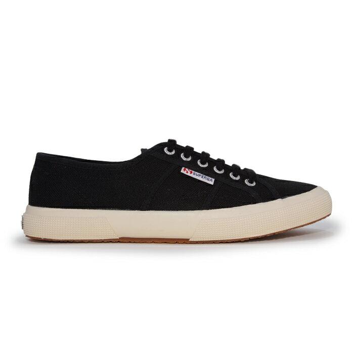 【SUPERGA】義大利國民鞋-黑  Cotu - Classic2750 0