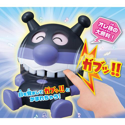 日本代購預購 滿600免運費 日本麵包超人 細菌人 危機一發玩具 牙齒醫生 夾手 桌遊 707-547