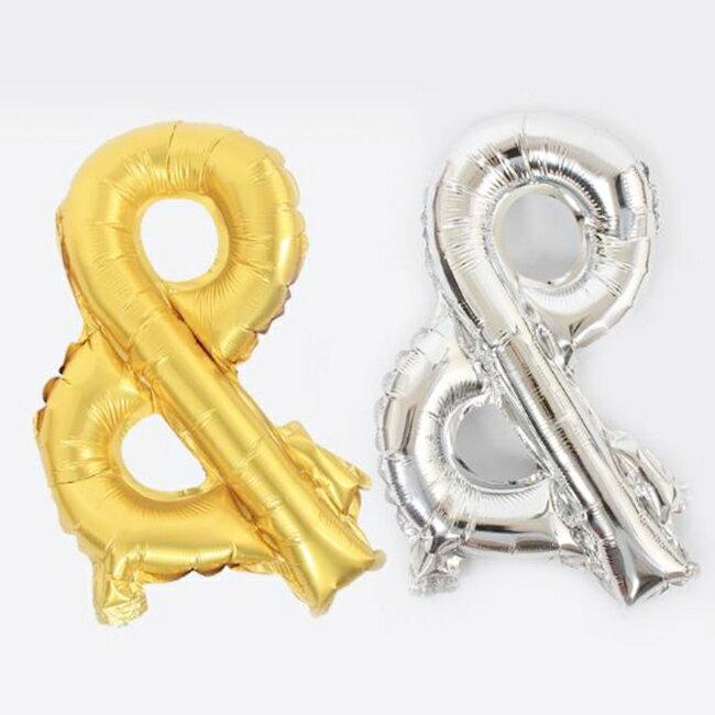 16吋& 鋁箔氣球 符號氣球 &氣球 &符號 16吋& 音符氣球(金/銀) 空飄氣球 字母氣球【塔克】