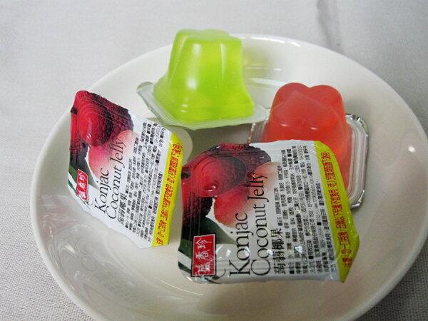 盛香珍蒟蒻椰果果凍(綜合口味)300g(半斤)【合迷雅好物商城】