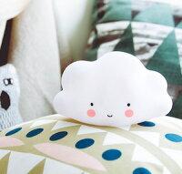 微笑雲朵造型夜燈(小) 寶寶台燈安撫燈 派對裝飾 可愛療癒無線小云朵 【Limiteria】