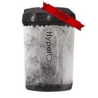 HyperChiller 2-PACK HC2 Patented Coffee/Beverage Cooler Ready in One Minute, Reusable for Iced Tea, Wine, Spirits, Alcohol, Juice, 12.5 oz