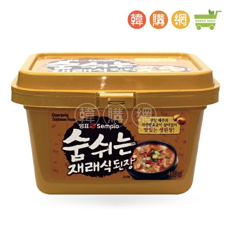 韓國膳府傳統味噌醬460g【韓購網】[AA00111]