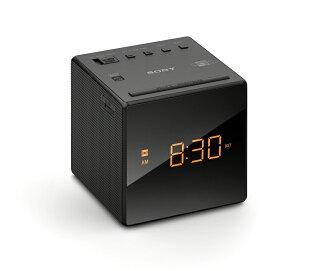 SONY ICF-C1T 電子鬧鐘可當收音機 白/黑 兩色