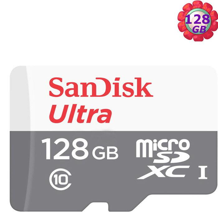 SanDisk 128GB 128G microSDXC【80MB/s】Ultra microSD micro SD SDXC UHS UHS-I Class 10 C10 SDSQUNS-128G 記憶卡 手機記憶卡